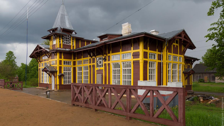 Вокзал в Куженкино